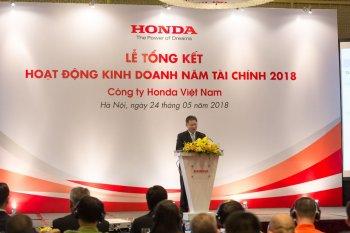 Honda Việt Nam công bố kết quả kinh doanh cả năm
