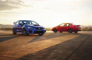 Subaru thêm bản đặc biệt WRX Series.Gray 2019