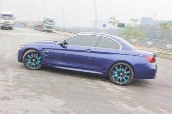 Cảm giác lái mạnh mẽ khó quên sau vô-lăng BMW 430i mui trần tại Sài thành