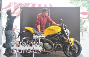 Ducati Việt Nam ra mắt Monster 821 đời 2018 giá 399,9 triệu đồng