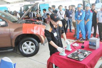 Isuzu Việt Nam chọn thợ máy xuất sắc đi thi quốc tế