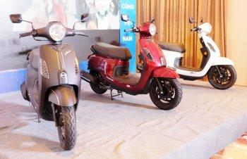 SYM Việt Nam ra mắt xe Abela và Angel 2018 - đối thủ của Honda Vision và Wave
