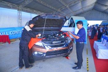 ISUZU Việt Nam liên tục phát triển toàn diện chất lượng hậu mãi