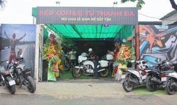 Red Coffee Tự Thanh Đa - điểm hẹn mới cho biker mê độ xe tại Sài Gòn