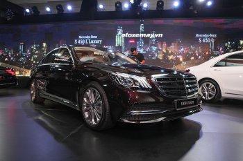 Mercedes-Benz S-Class S450 ra mắt loạt xe 2018 tại Việt Nam