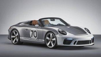 """Porsche tung concept """"khủng"""" kỷ niệm 70 năm thương hiệu"""