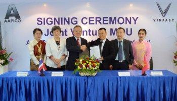 VINFAST hợp tác với công ty Thái Lan sản xuất thân vỏ xe