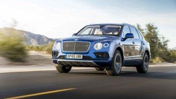 SUV siêu sang Bentley Bentayga Speed ra mắt năm 2019
