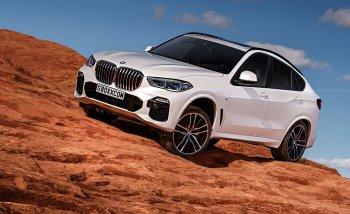 Tò mò ngắm ảnh phác thảo BMW X6 thế hệ mới