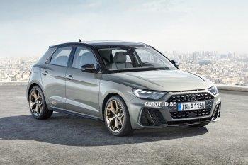 Công bố hình ảnh chính thức Audi A1 2019