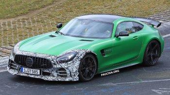 Xe thể thao Mercedes-AMG GT R sắp có phiên bản mới