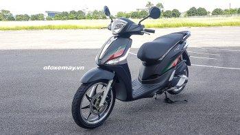 Hé lộ phiên bản nâng cấp Piaggio Liberty ABS chuẩn bị được bán ra