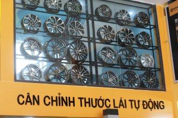 Trung tâm chăm sóc lốp Continental lớn nhất miền Bắc đặt ở Ninh Bình
