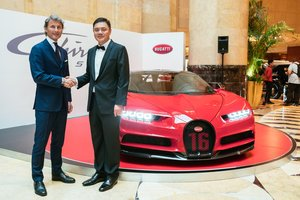 Bugatti Chiron Sport bất ngờ ra mắt Đông Nam Á