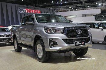 Xem trước bản nâng cấp Toyota Hilux 2018 chuẩn bị được bán ra tại VN