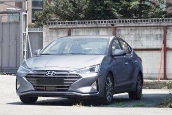 Sedan Hyundai Elantra 2019 lộ thêm hình ảnh: Đẹp như xe sang