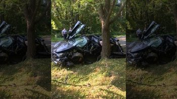 """Vừa ra khỏi đại lý, siêu xe McLaren 720S tiền tỷ đã """"gặp nạn"""""""