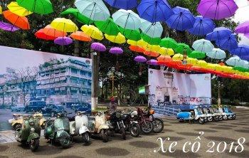 Ngày hội Xe cổ Đầm Sen 2018 trong hai ngày cuối tuần