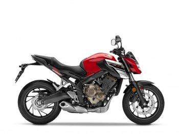 """Honda chế """"hàng độc"""" nakedbike 650 phân khối"""