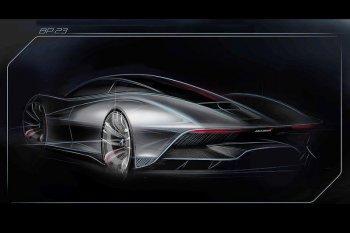 Siêu xe Speedtail nối tiếp huyền thoại McLaren F1