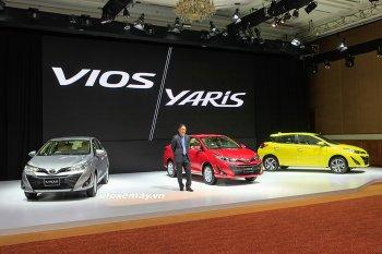 Toyota Việt Nam trình làng Vios và Yaris mới, tăng giá bán
