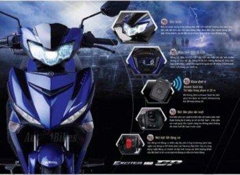 Xuất hiện hình ảnh Yamaha Exciter 150 phiên bản mới