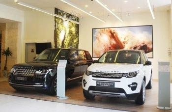 Jaguar Land Rover mở phòng trưng bày mới tại TP.HCM