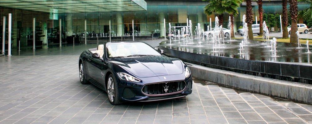 Cận cảnh Maserati GranCabrio Sport 2018 giá 17 tỷ đồng