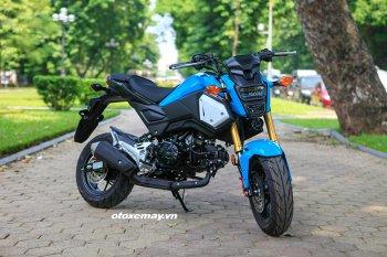 Chi tiết phiên bản nâng cấp Honda MSX 125 2018