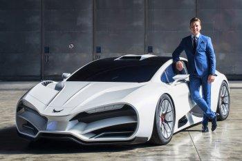 """Siêu xe Milan Red hoàn toàn mới gây """"choáng"""" với sức càn lướt 1.306 mã lực"""