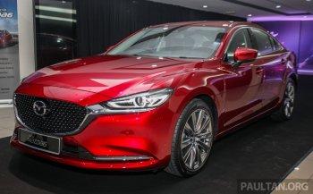 Chùm ảnh Mazda6 2018 ở Malaysia, giá từ 1,15 tỷ đồng