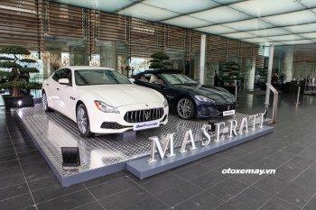 Maserati khai trương khu trưng bày đẳng cấp tại  JW Marriot Hà Nội