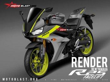 Yamaha R25 và R3 2019 lộ diện qua hình ảnh phác thảo