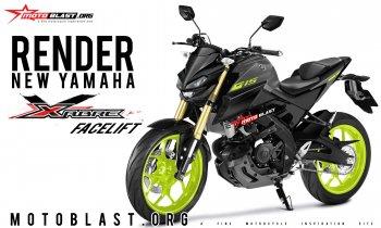 Xem trước nakedbike Yamaha Xabre 150cc 2019