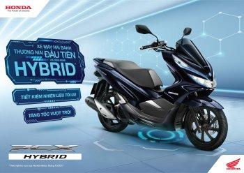 Honda PCX Hybrid lắp ráp tại Việt Nam với giá bán 89,99 triệu đồng