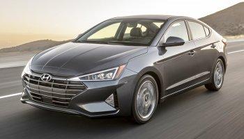 Hyundai Elantra 2019 facelift dáng tiêm kích, nhắc tránh mở cửa bất cẩn