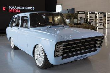 """Hãng sản xuất súng của Nga ra mắt xe điện, tham vọng """"tấn công"""" Tesla"""