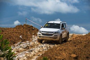 Khoảng 1.000 khách hàng sẽ trải nghiệm lái thực tế SUV Mỹ Chevrolet Trailblazer