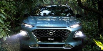 Hyundai Kona đạt chuẩn an toàn cao nhất nhờ sửa đèn pha