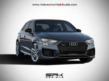 Phác thảo hình ảnh Audi RS 3 Sportback 2020