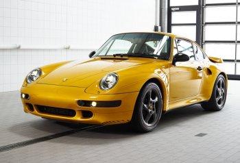 Porsche chế xe cổ 911 Turbo phong cách thể thao 450 mã lực