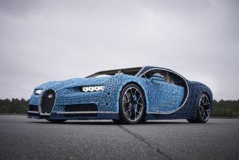 Bugatti Chiron phiên bản Lego có thể chạy như thật