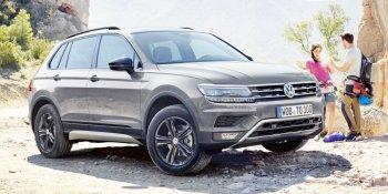 """Volkswagen Tiguan """"chiến"""" off-road tốt nhờ góc thoát lớn"""