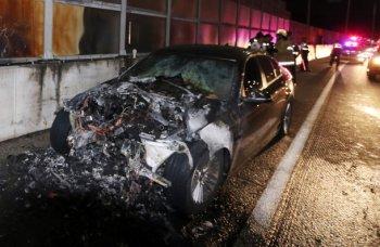 Điều tra vụ cháy xe, văn phòng BMW Hàn Quốc bị lục soát