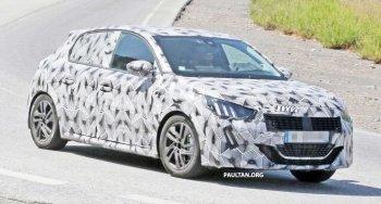 Lần đầu bắt gặp hatchback Peugeot 208 thế hệ mới trên đường thử