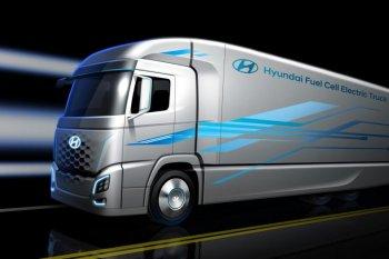 Xe tải chạy pin nhiên liệu của Hyundai bán ra năm 2019