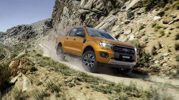 Ford Ranger Wildtrack mới được trang bị động cơ của Ranger Raptor