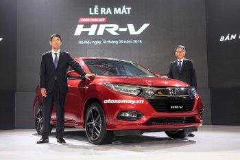 Honda HR-V chính thức ra mắt, gía cao nhất 871 triệu đồng
