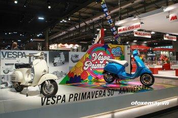 Vespa Primavera bản kỷ niệm 50 năm có giá 77,5 triệu đồng tại VN
