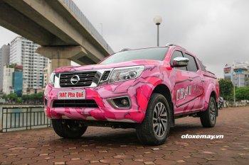 Bán tải Navara màu hồng sẽ tham gia thi đấu tại VOC 2018